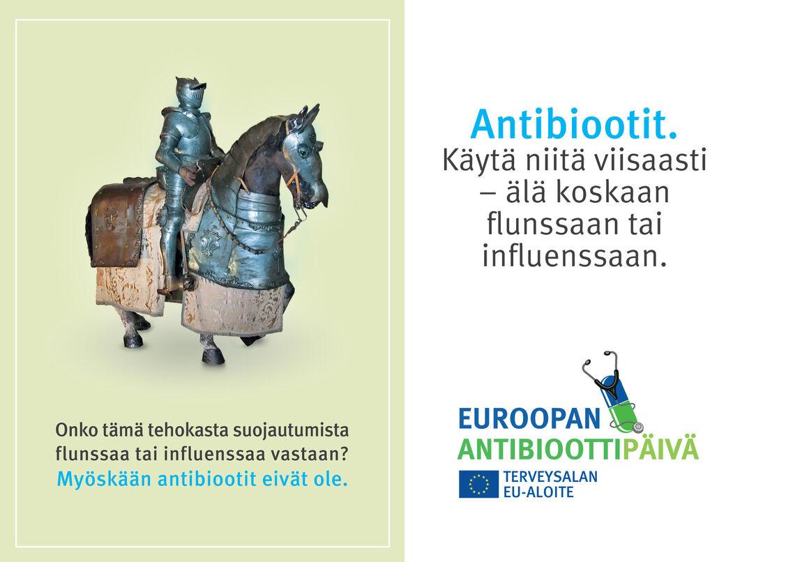 Pharmacy bags: Self-medication with antibiotics [FI]