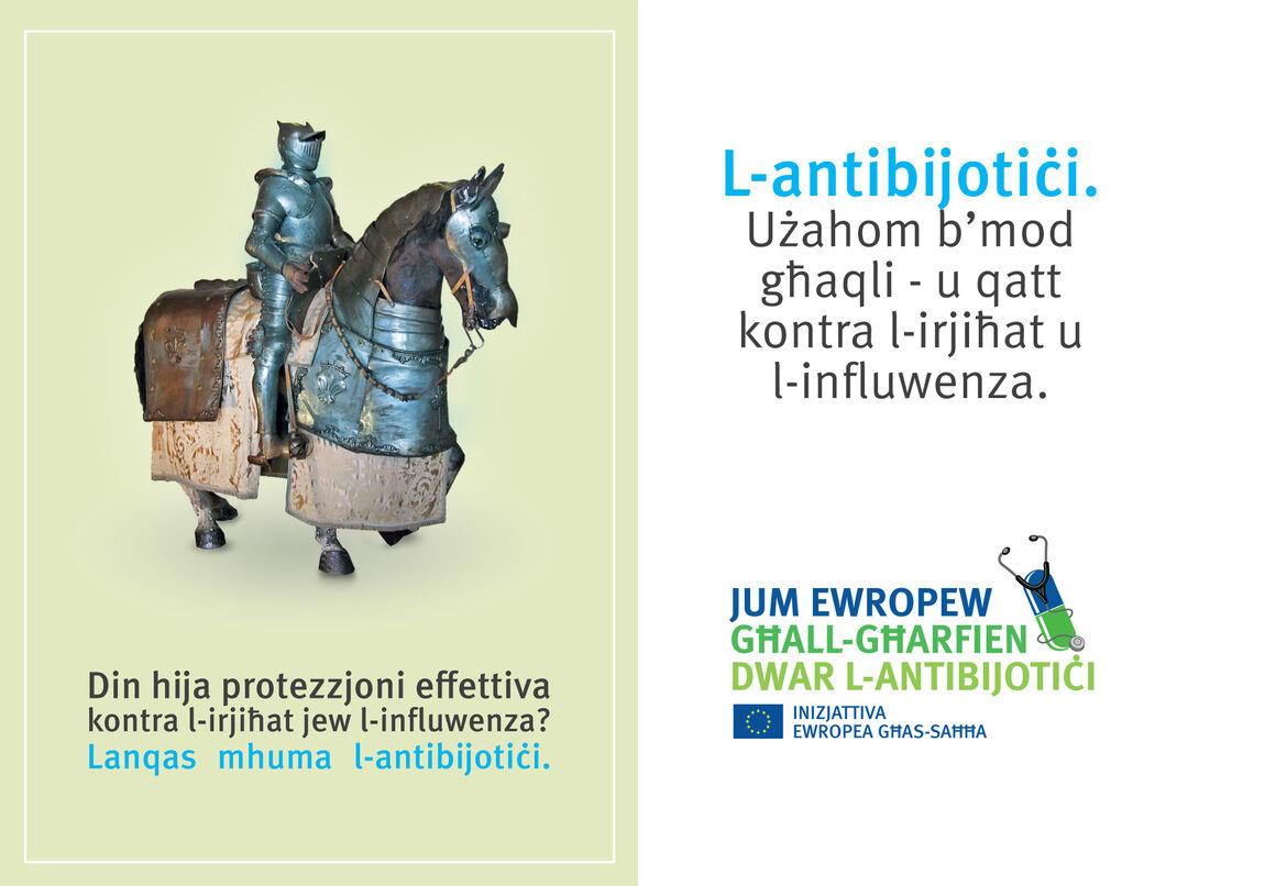 Pharmacy bags: Self-medication with antibiotics [MT] 