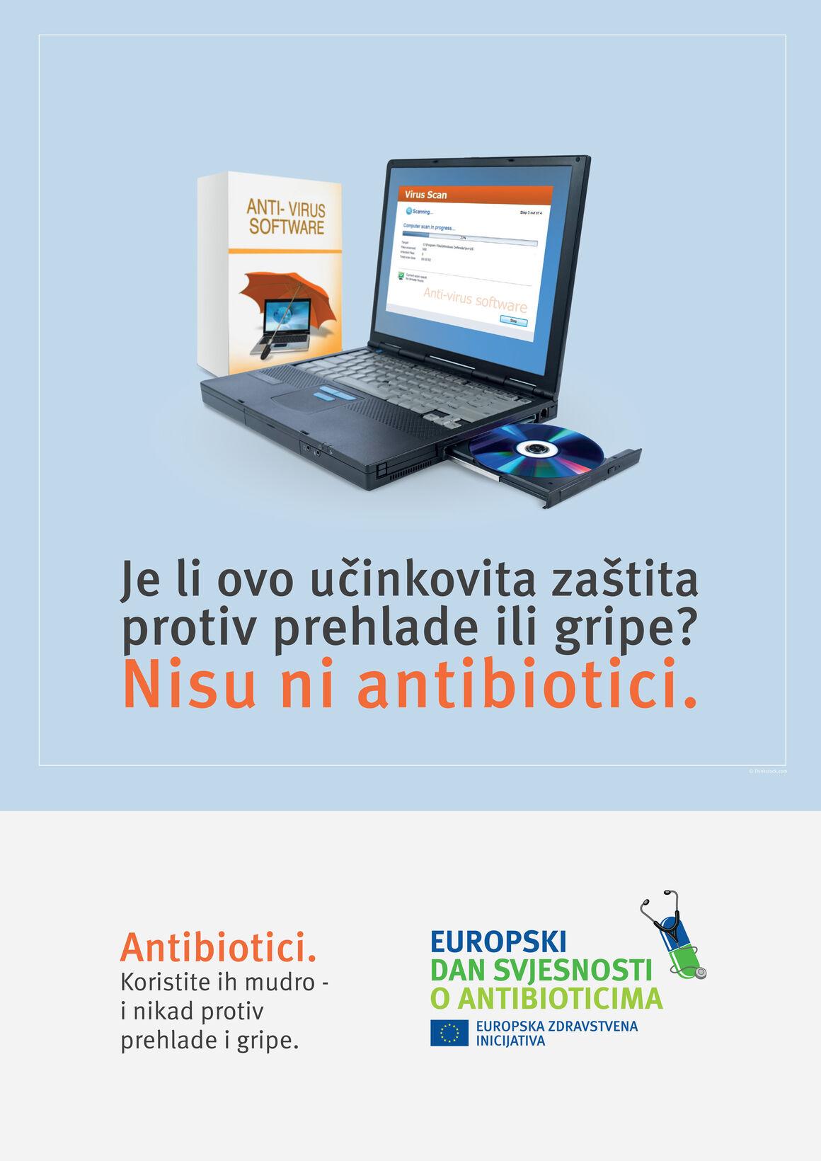 Plakati: Je li ovo učinkovita zaštita protiv prehlade ili gripe? Nisu ni antibiotici.