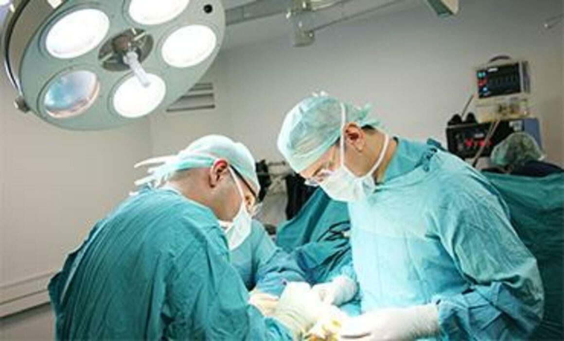 Acute care hospitals, surgery